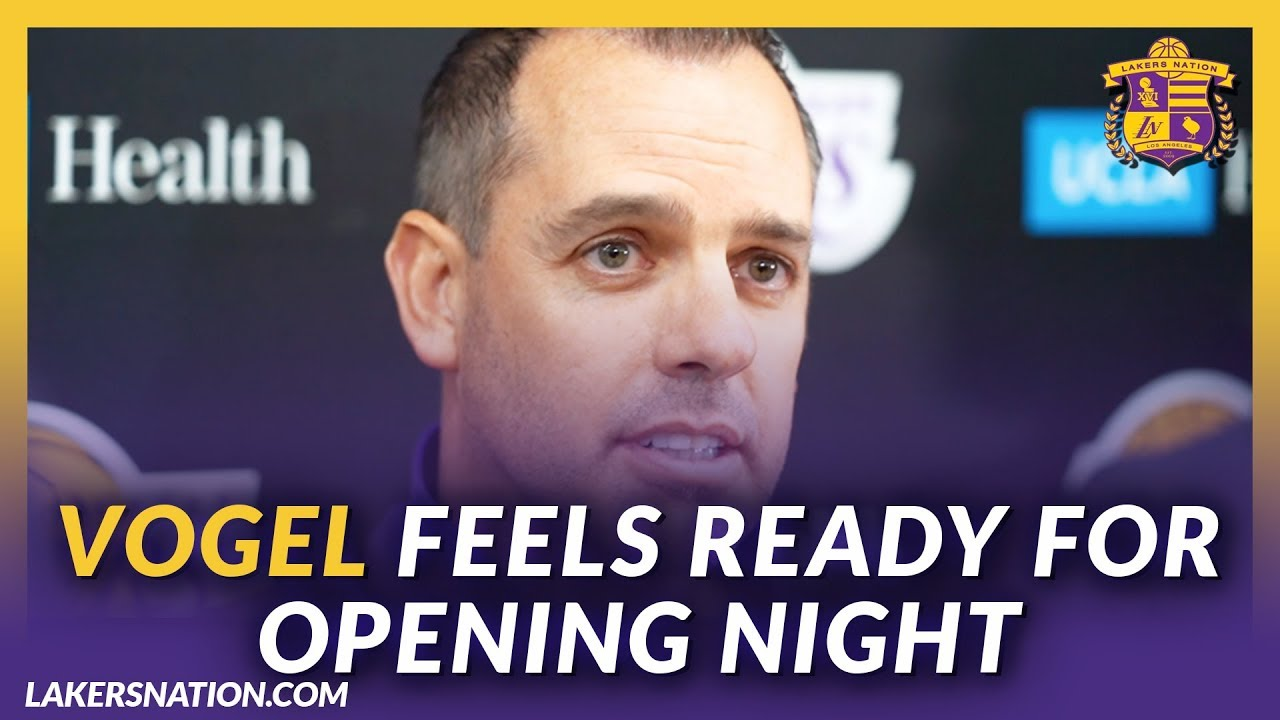 Lakers Post Practice: Vogel Confident Team Is Ready For Opening Night