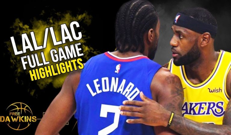 Los Angeles Clippers vs Los Angeles Lakers Full Game Highlights | October 22, 2019 | FreeDawkins