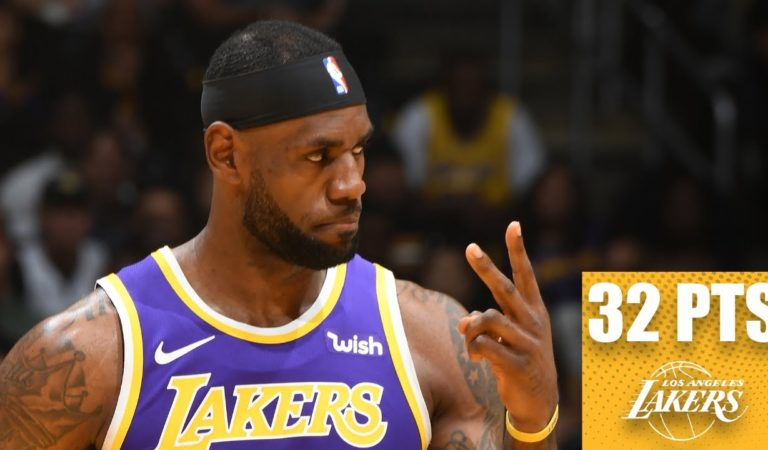 LeBron dominates the Jazz with near triple-double in the Lakers' first win | 2019-20 NBA Highlights