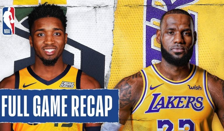 JAZZ at LAKERS | LeBron Puts Up Near Triple-Double  | Oct. 25, 2019