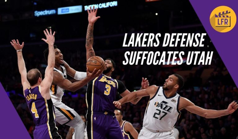Lakers Defense Suffocates Utah