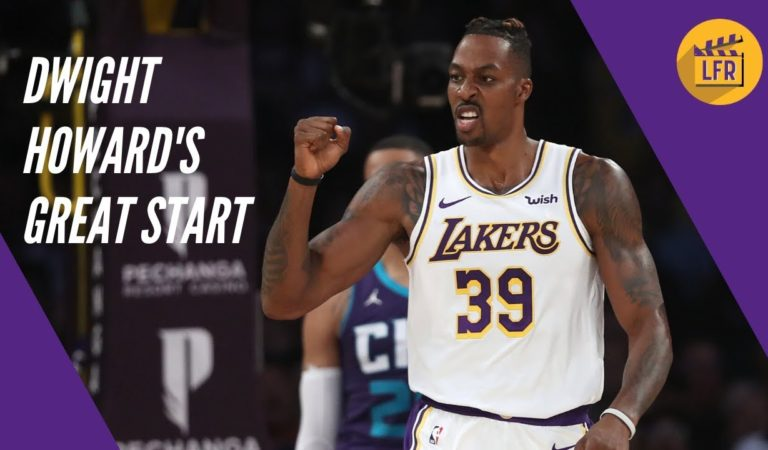 Dwight Howard's Great Start – Offense