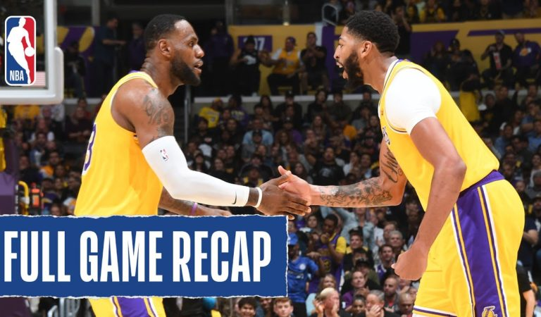 GRIZZLIES at LAKERS | AD TAKES OVER for Lakers (40 PTS, 20 REB) | Oct. 29, 2019