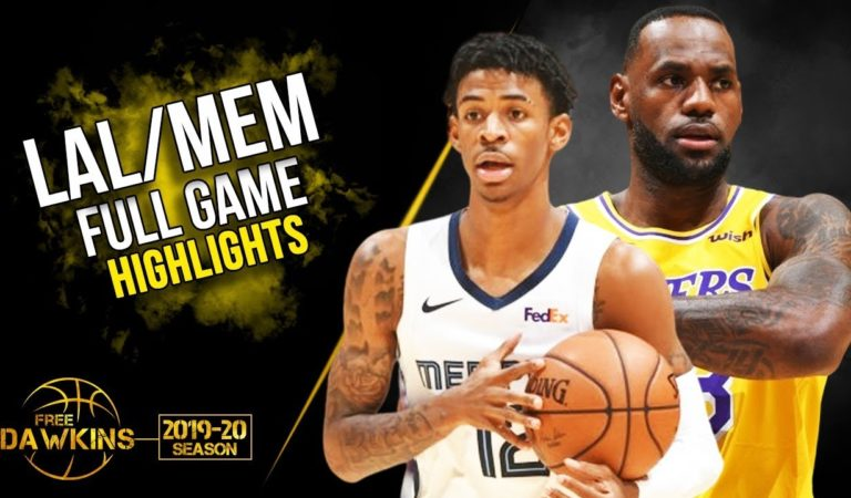 Los Angeles Lakers vs Memphis Grizzlies Full Game Highlights | October 29, 2019 | FreeDawkins