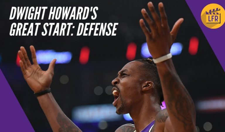 Dwight Howard's Great Start – Defense