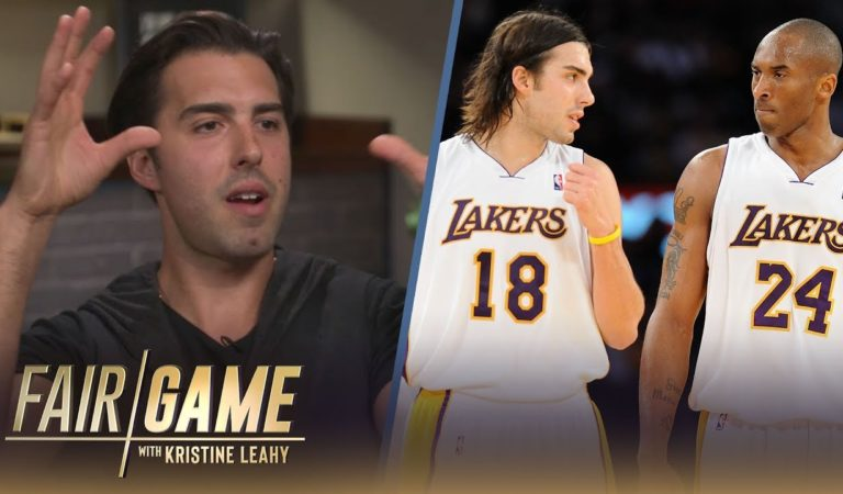 """Kobe Accepted Me as a Younger Brother From Day 1"" — Sasha Vujacic on Lakers Career 