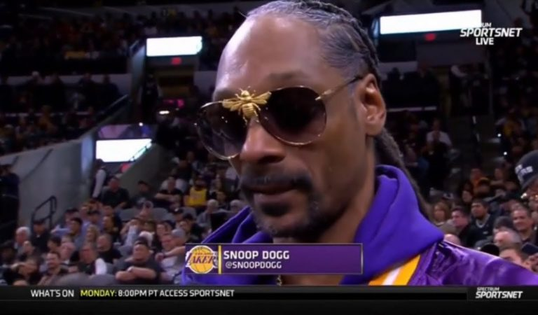 "Snoop Dogg ""STRONG REACTS"": Lakers crush Spurs 103-96; LeBron: 21-pt, Anthony Davis: 25-pt 