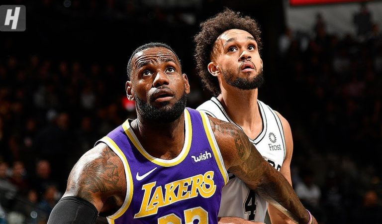 Los Angeles Lakers vs San Antonio Spurs – Full Highlights | November 3, 2019 | 2019-20 NBA Season