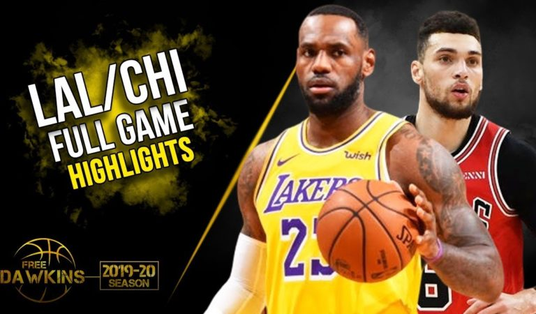 Los Angeles Lakers vs Chicago Bulls Full Game Highlights | Nov 5, 2019 | FreeDawkins