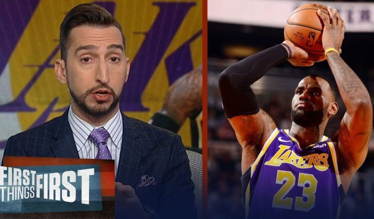 Nick Wright IMPRESSIVE by LeBron, Lakers def. Hawks 122-101 to improve to NBA-best 11-2
