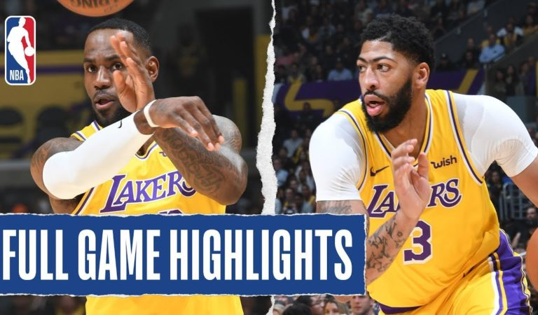 THUNDER at LAKERS | FULL GAME HIGHLIGHTS | November 19, 2019