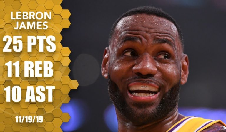 LeBron James becomes 1st player with a triple-double vs. every NBA team | 2019-2020 NBA Highlights