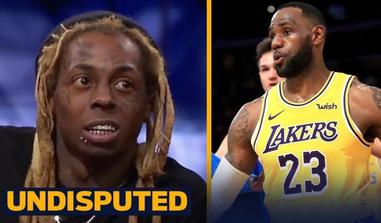 UNDISPUTED – Lil Wayne IMPRESSIVE by LeBron, AD and Lakers have NBA's best record at 12-2