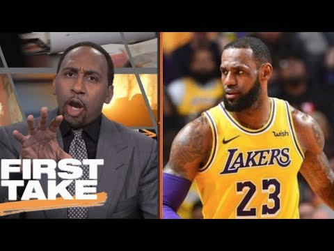 Stephen A. Smith EXCITED Lakers' LeBron is the best NBA MVP of All-Time