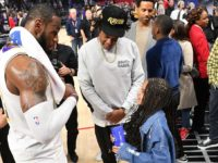 Jay-Z Punches Cool Dad Card, Gets Blue Ivy a LeBron James-Signed Basketball
