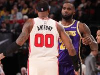 Carmelo Anthony: LeBron James saved my life with swim rescue