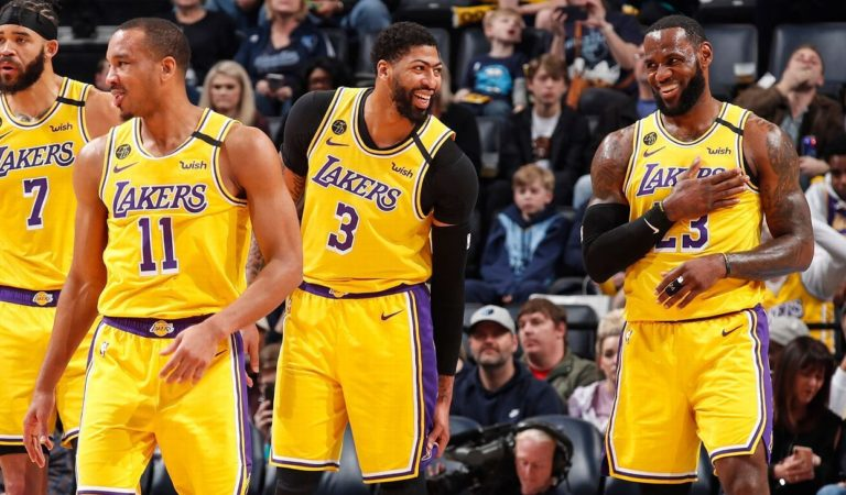 Virtual workouts help tight-knit Lakers stay close
