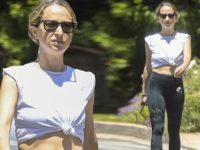 Jennifer Aniston and Courteney Cox's jeweler Jennifer Meyer is chic in knotted top