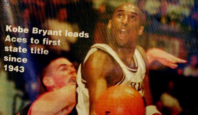Kobe Bryant High School Footage Part Of Auction Expected To Fetch Up To $350,000