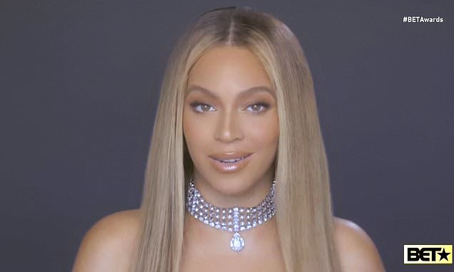 BET AWARDS 2020: Beyoncé receives Humanitarian Award and urges viewers to 'dismantle' racist system
