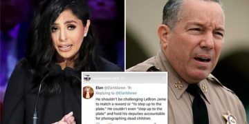 Vanessa Bryant claps back at LA cops over sheriff's challenge to LeBron James