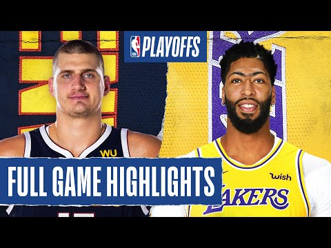 NUGGETS at LAKERS | FULL GAME HIGHLIGHTS | September 20, 2020