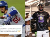 LeBron James hyped up reaction after Dodgers World Series win goes viral on Twitter