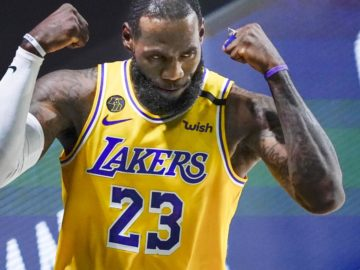 Video: Lakers' LeBron James Teases 'Space Jam: A New Legacy' Details