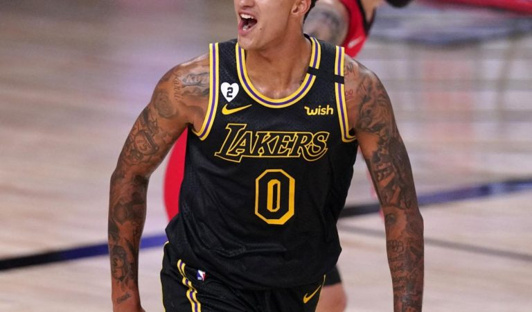 Lakers' Kyle Kuzma Wants to 'Improve My All-Around Game' This Season