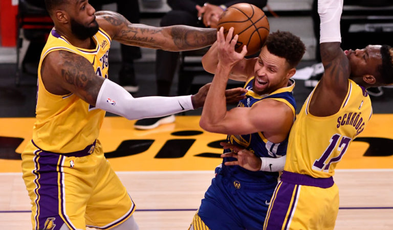 NBA: Warriors escape 19-point hole, stun Lakers
