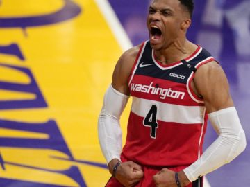 LeBron James, Lakers Fall to Russell Westbrook, Bradley Beal, Wizards in OT