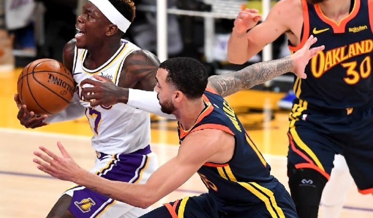 NBA: Lakers jump on Warriors early, roll to easy win