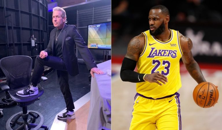 """""""LeBron James crossed the line by stopping the game and confronting the guy"""": Skip Bayless criticizes the Lakers star"""